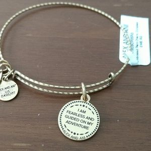 "ALEX AND ANI ""EMBOSSED PAINT CHARM-COMPASS"" NWT❣️❣"